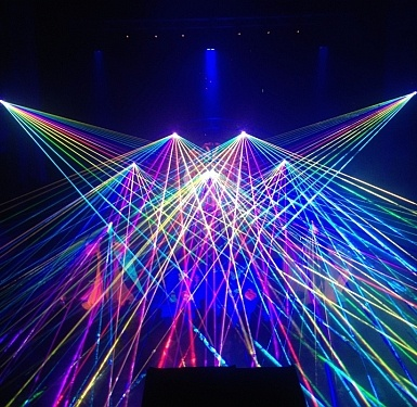 What is a laser show